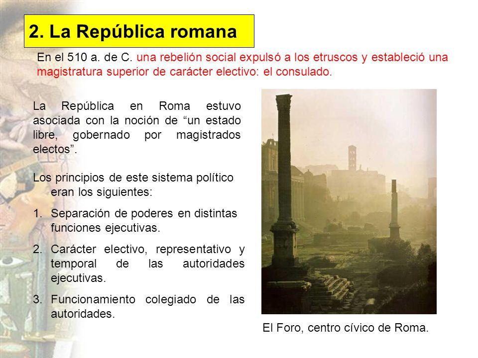 2. La República romana