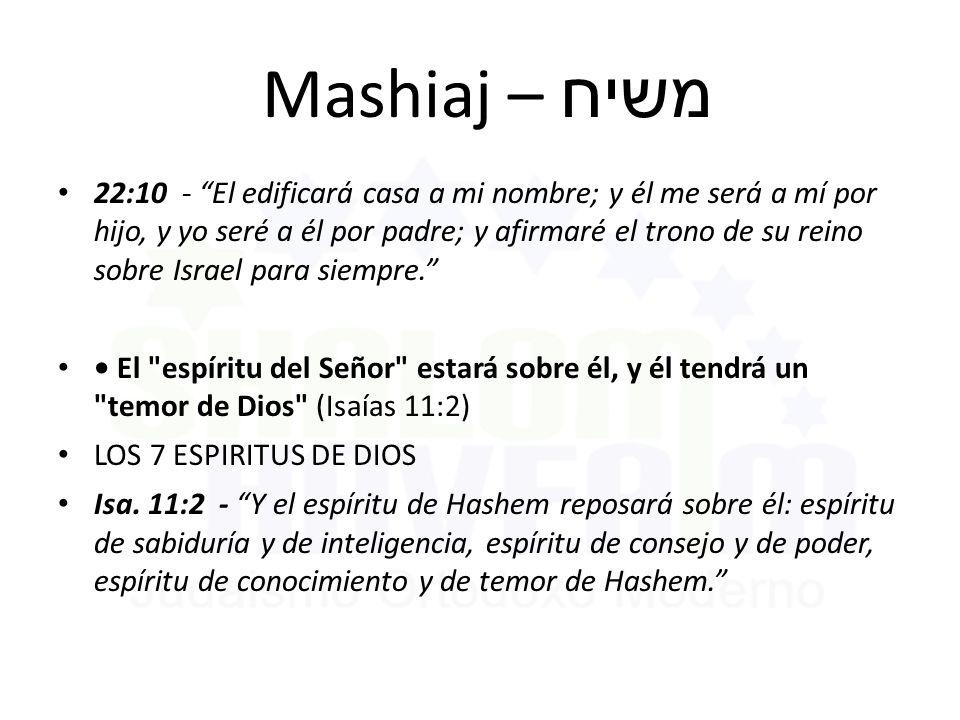 Mashiaj – משיח
