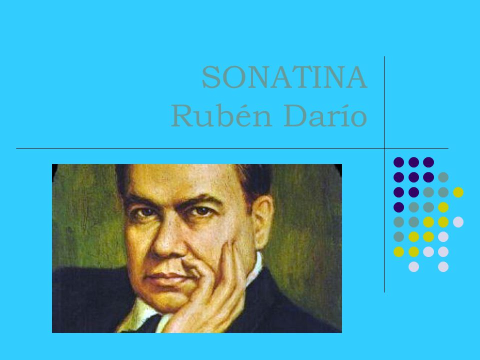 SONATINA Rubén Darío