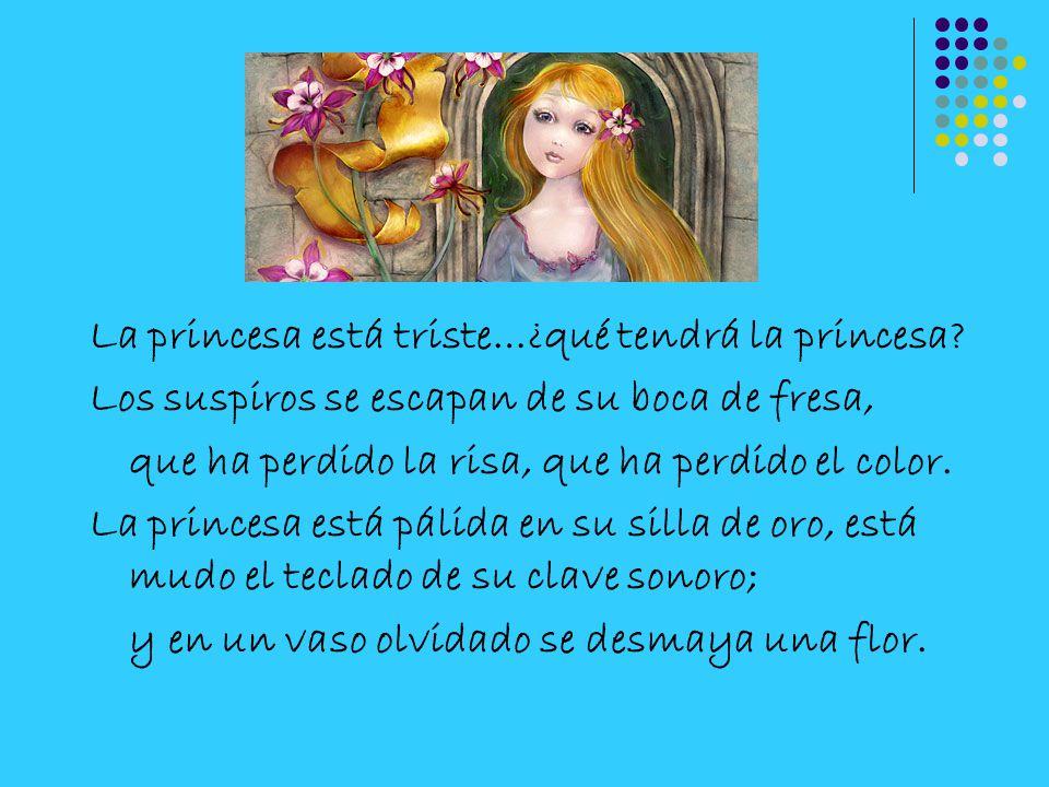 La princesa está triste…¿qué tendrá la princesa