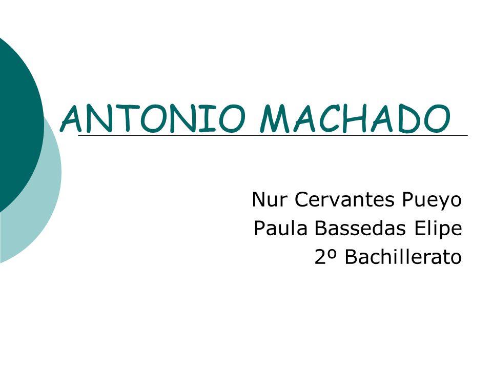 Nur Cervantes Pueyo Paula Bassedas Elipe 2º Bachillerato