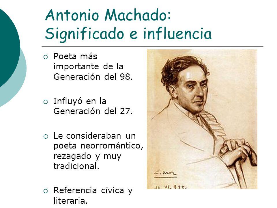 Antonio Machado: Significado e influencia