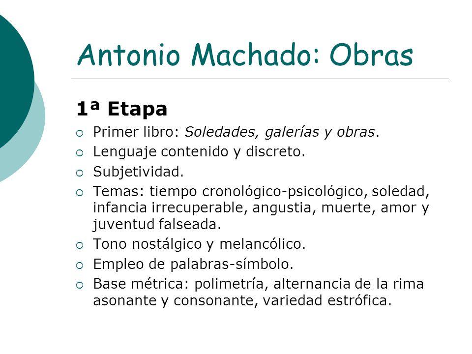 Antonio Machado: Obras