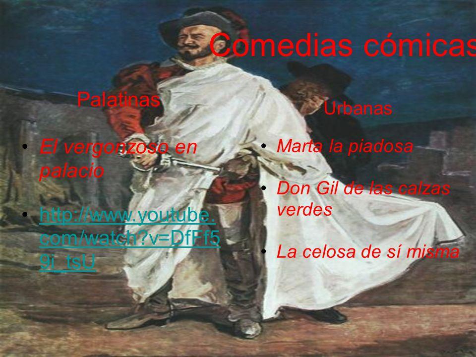 Comedias cómicas Palatinas El vergonzoso en palacio