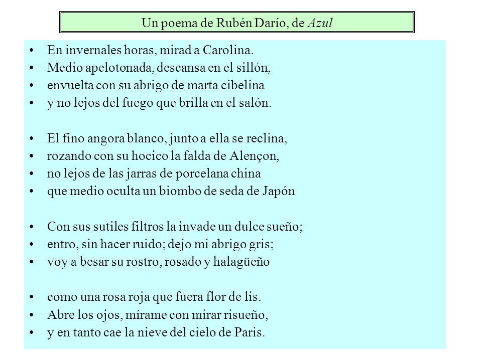 Un poema de Rubén Darío, de Azul