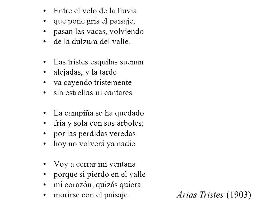Arias Tristes (1903) Entre el velo de la lluvia