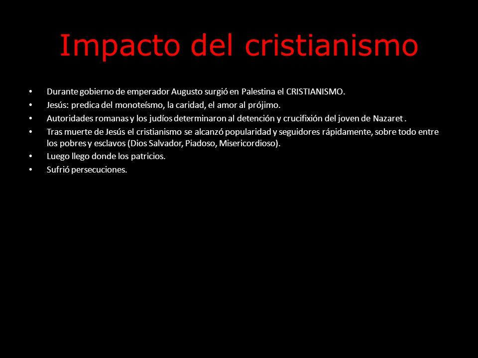 Impacto del cristianismo