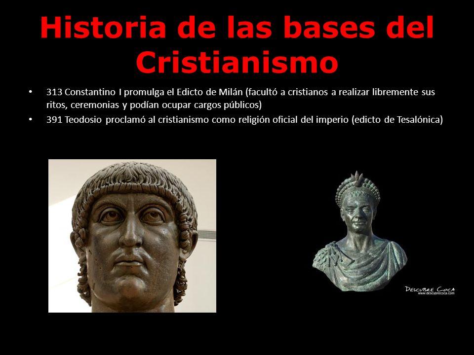 Historia de las bases del Cristianismo