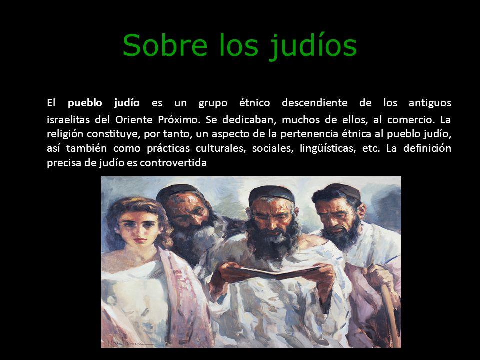 Sobre los judíos