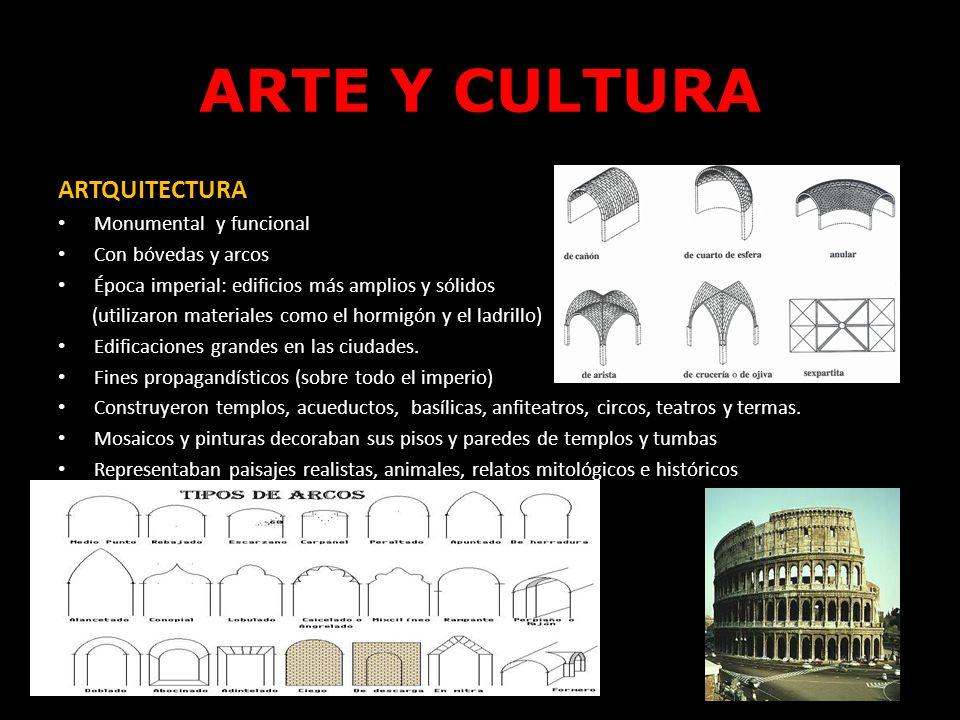 ARTE Y CULTURA ARTQUITECTURA Monumental y funcional