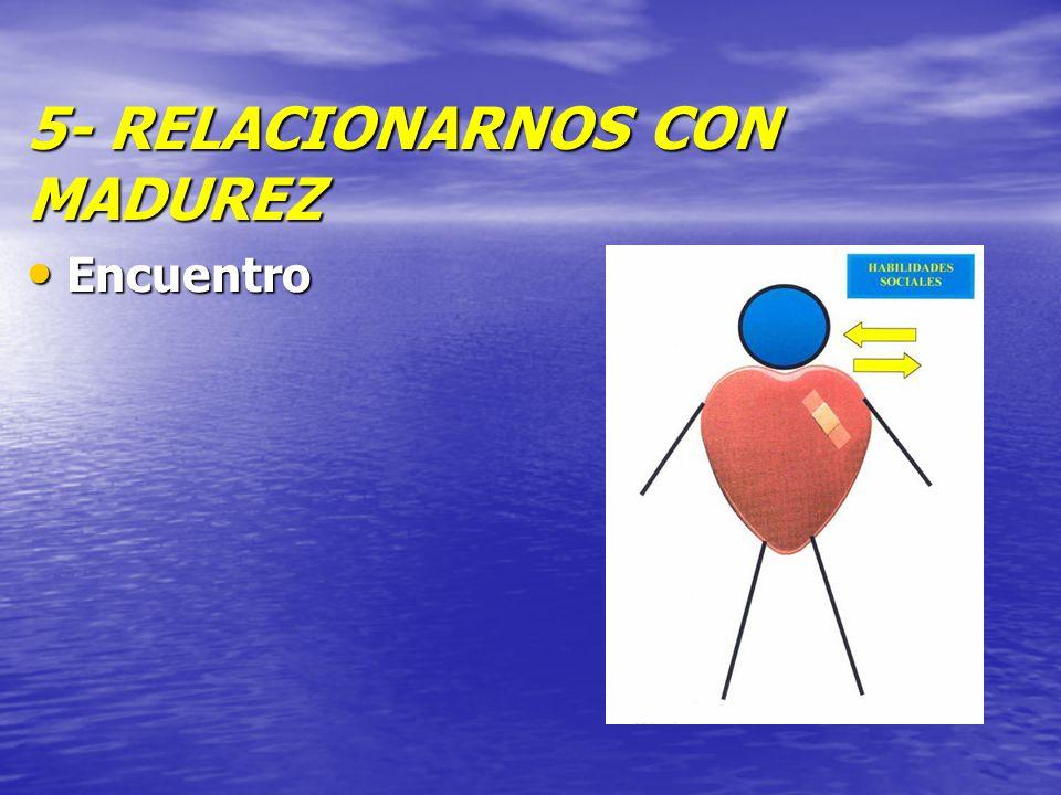 5- RELACIONARNOS CON MADUREZ