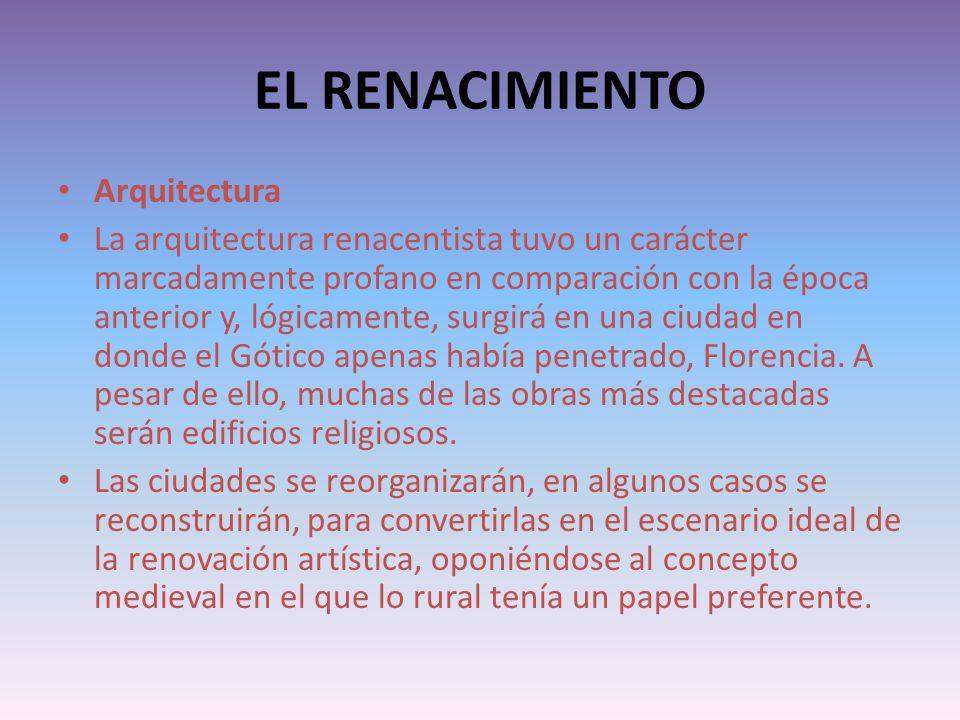EL RENACIMIENTO Arquitectura