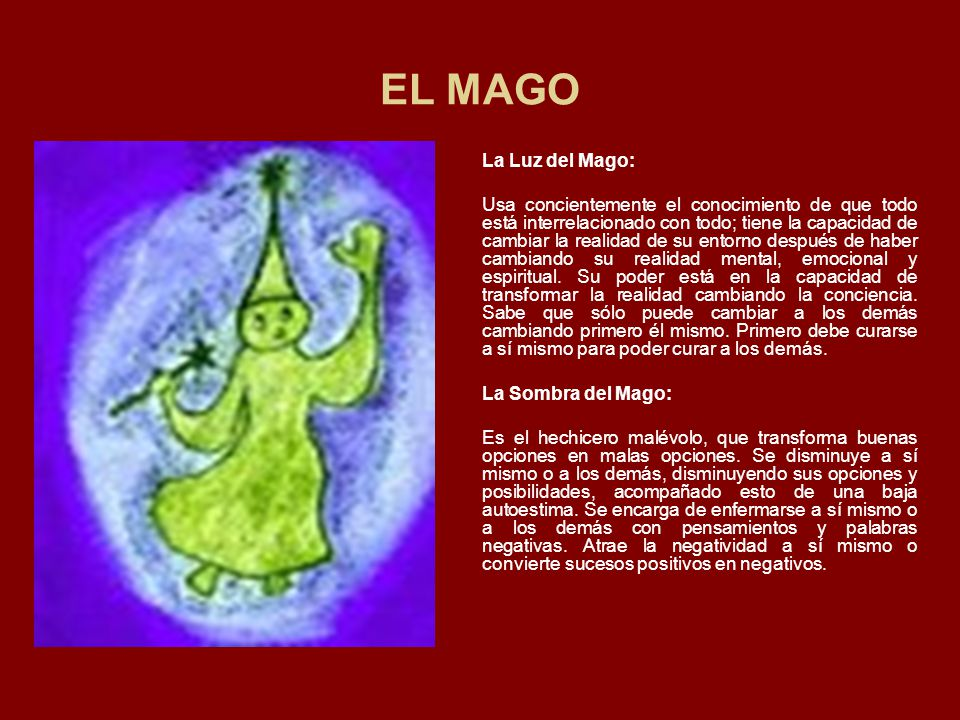 EL MAGO La Luz del Mago: