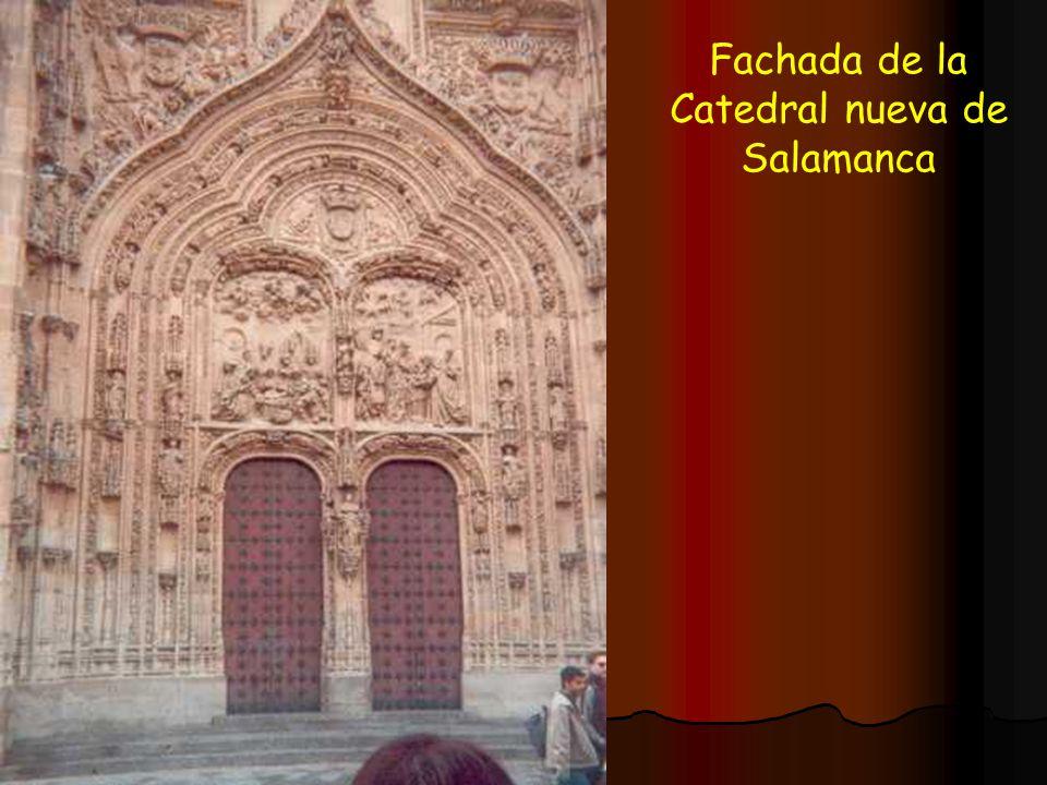 Fachada de la Catedral nueva de Salamanca