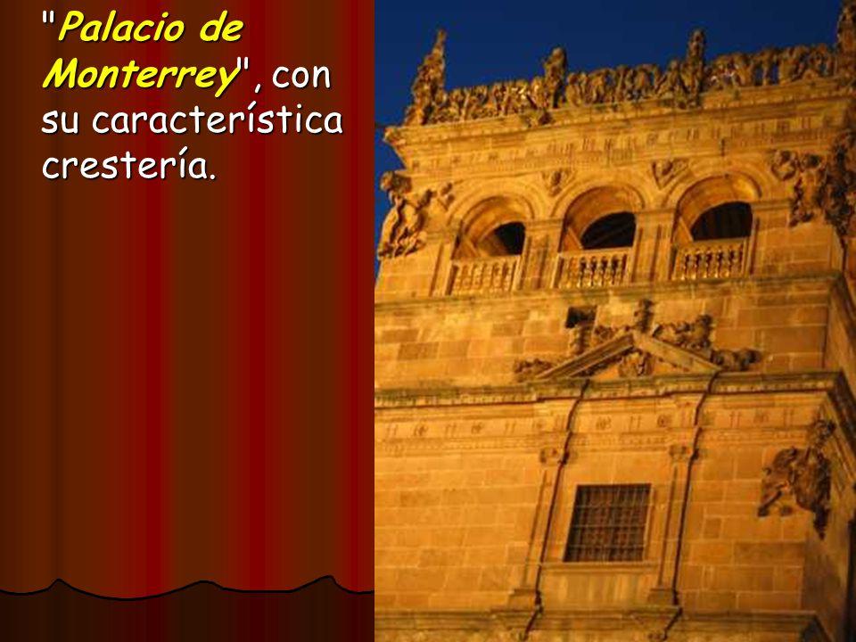 Palacio de Monterrey , con su característica crestería.