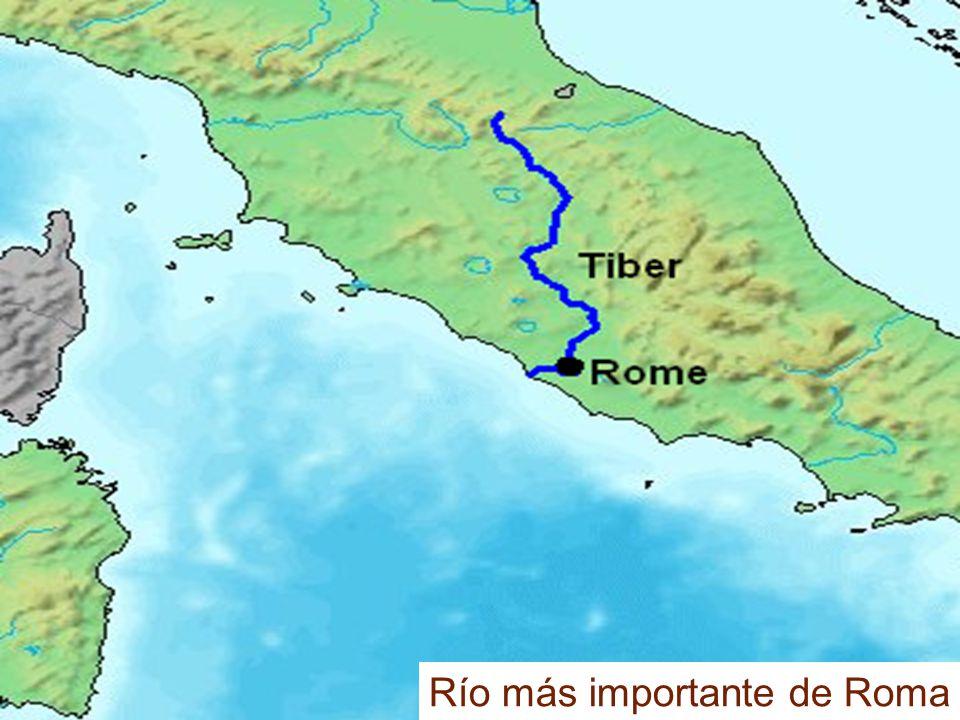 Río más importante de Roma