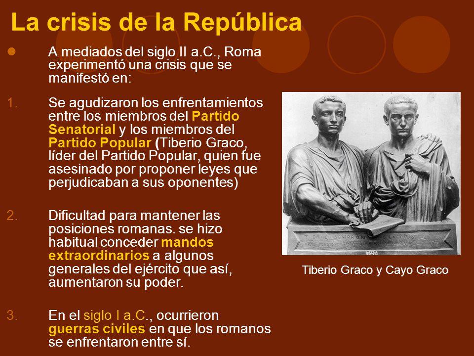 La crisis de la República