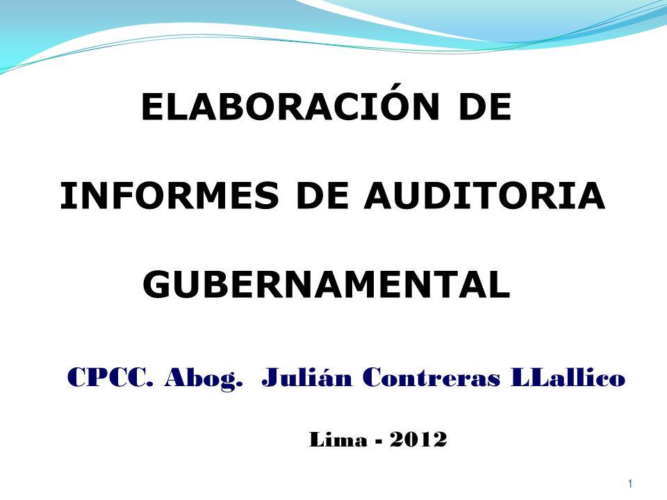 CPCC. Abog. Julián Contreras LLallico