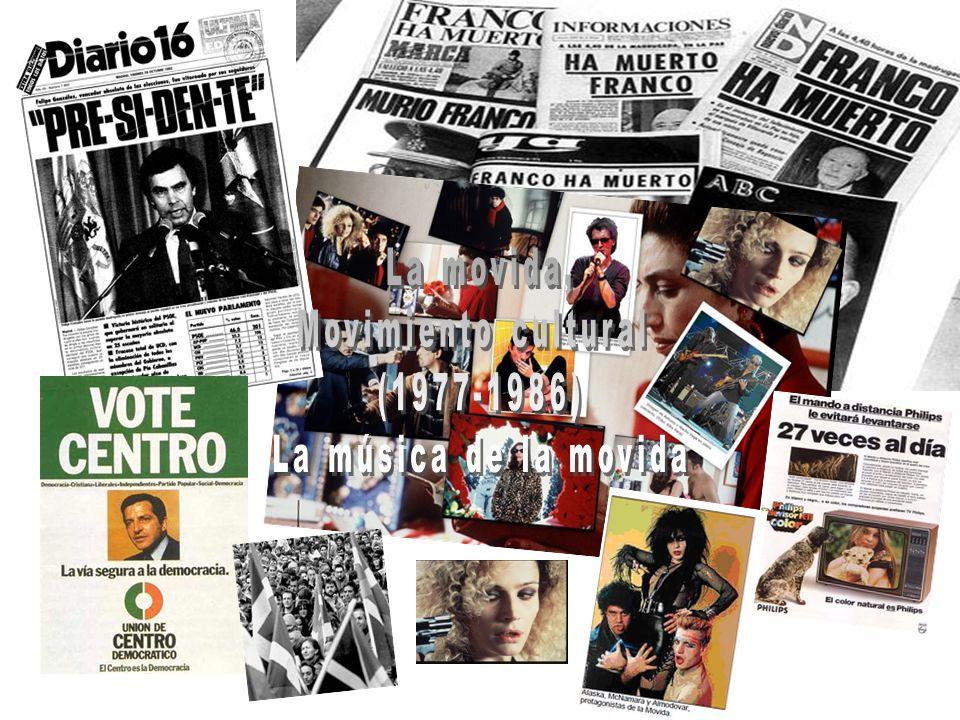 La movida, Movimiento cultural (1977-1986) La música de la movida