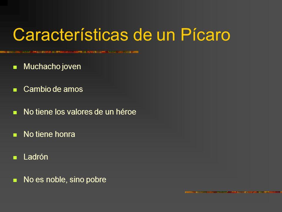 Características de un Pícaro