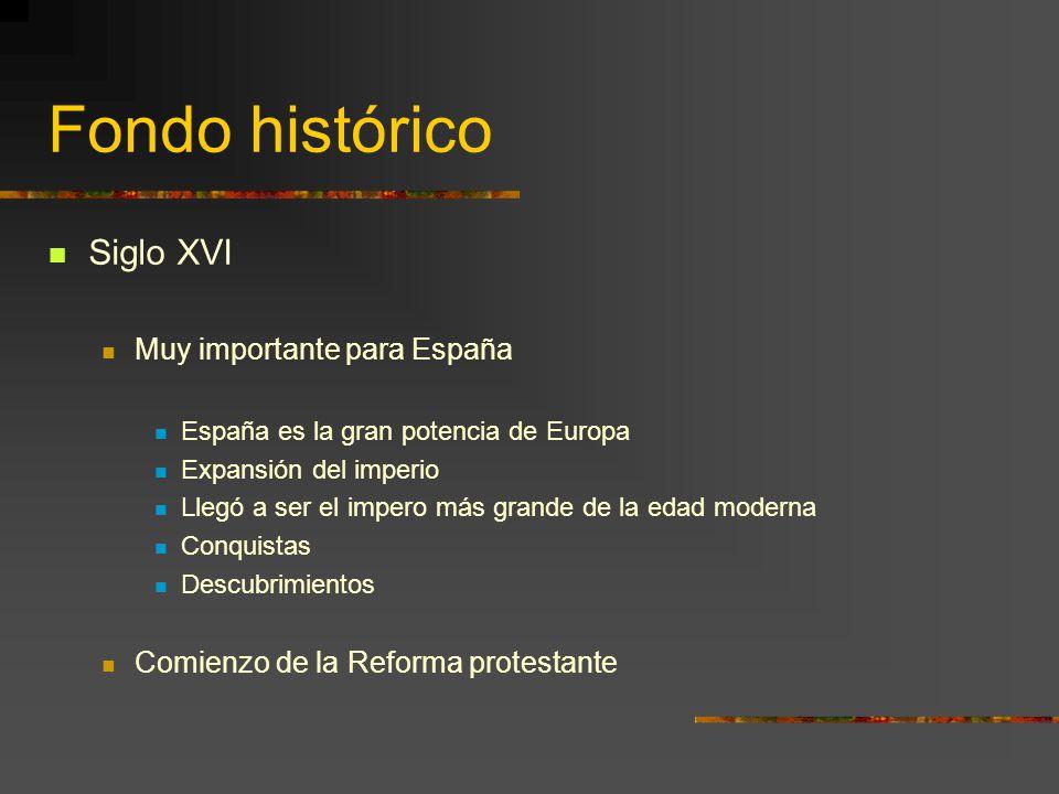 Fondo histórico Siglo XVI Muy importante para España