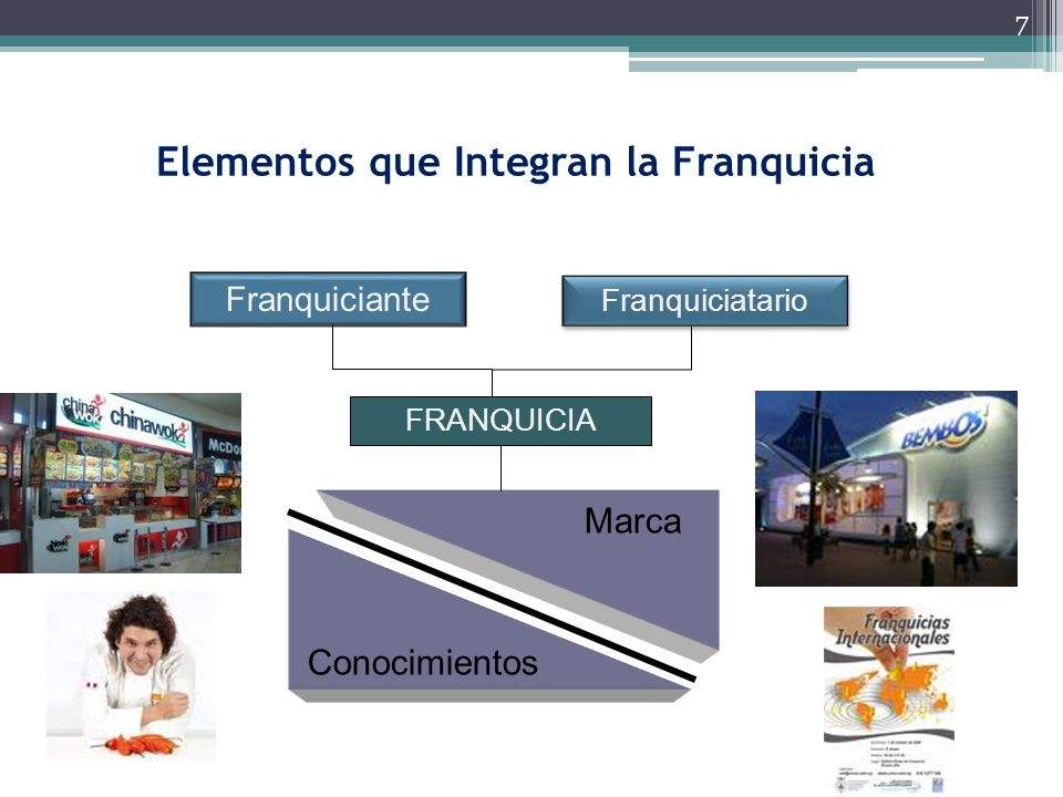 Elementos que Integran la Franquicia