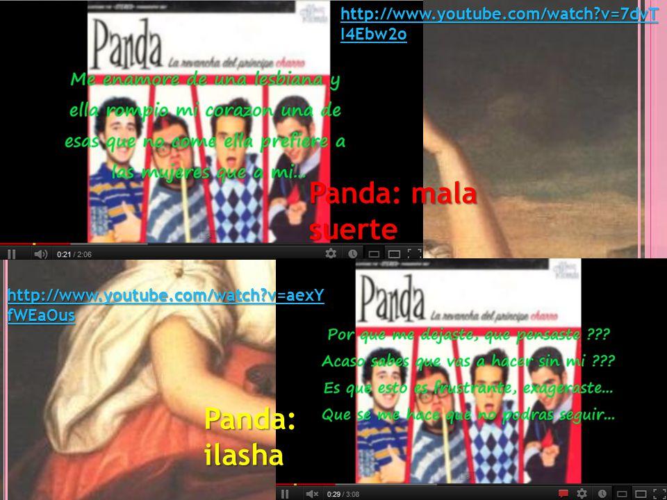 Panda: mala suerte Panda: ilasha