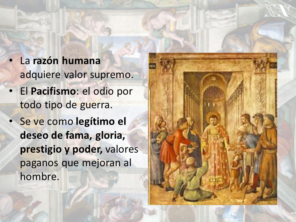 La razón humana adquiere valor supremo.