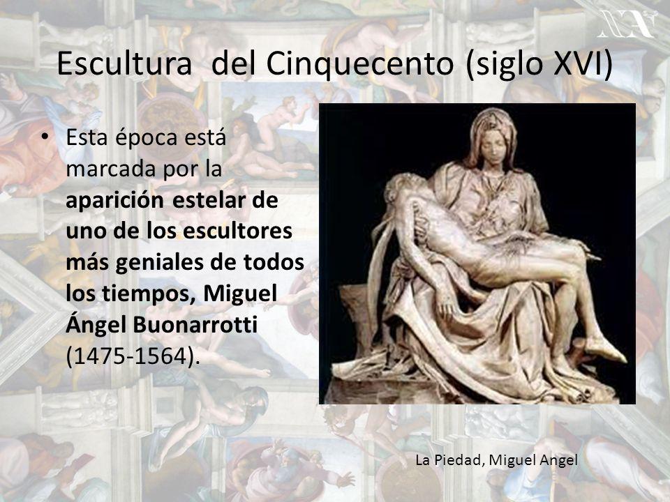 Escultura del Cinquecento (siglo XVI)
