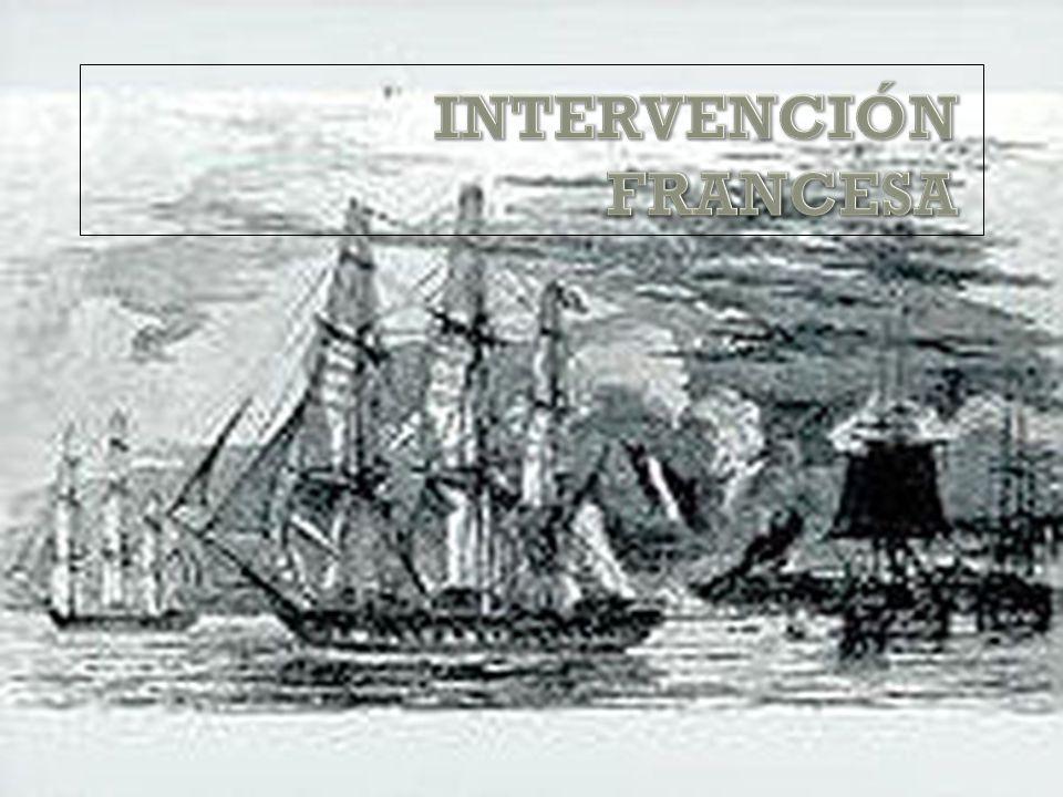 INTERVENCIÓN FRANCESA