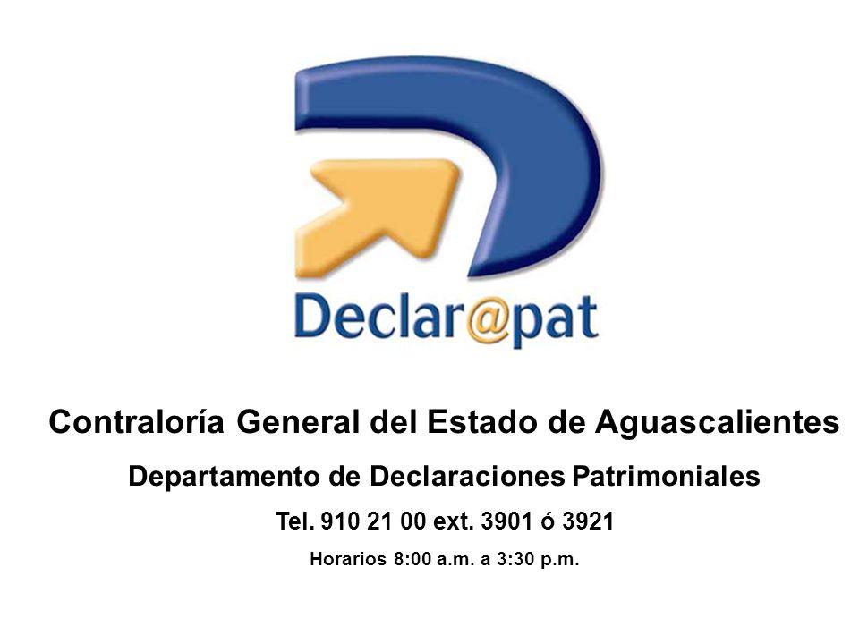 Contraloría General del Estado de Aguascalientes