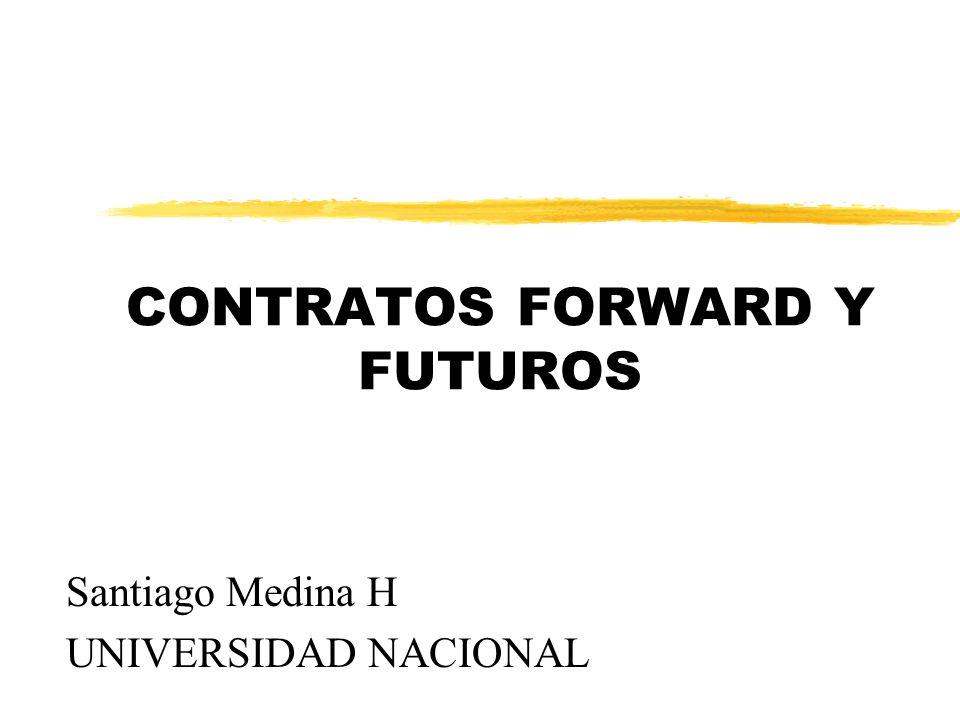 CONTRATOS FORWARD Y FUTUROS