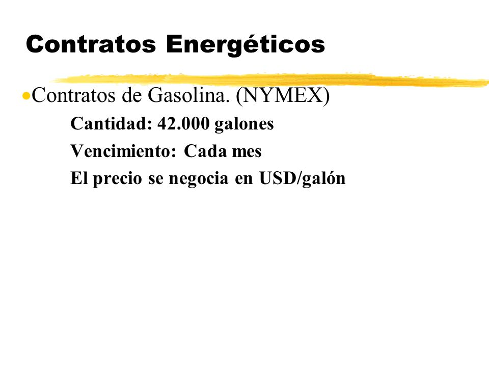Contratos Energéticos