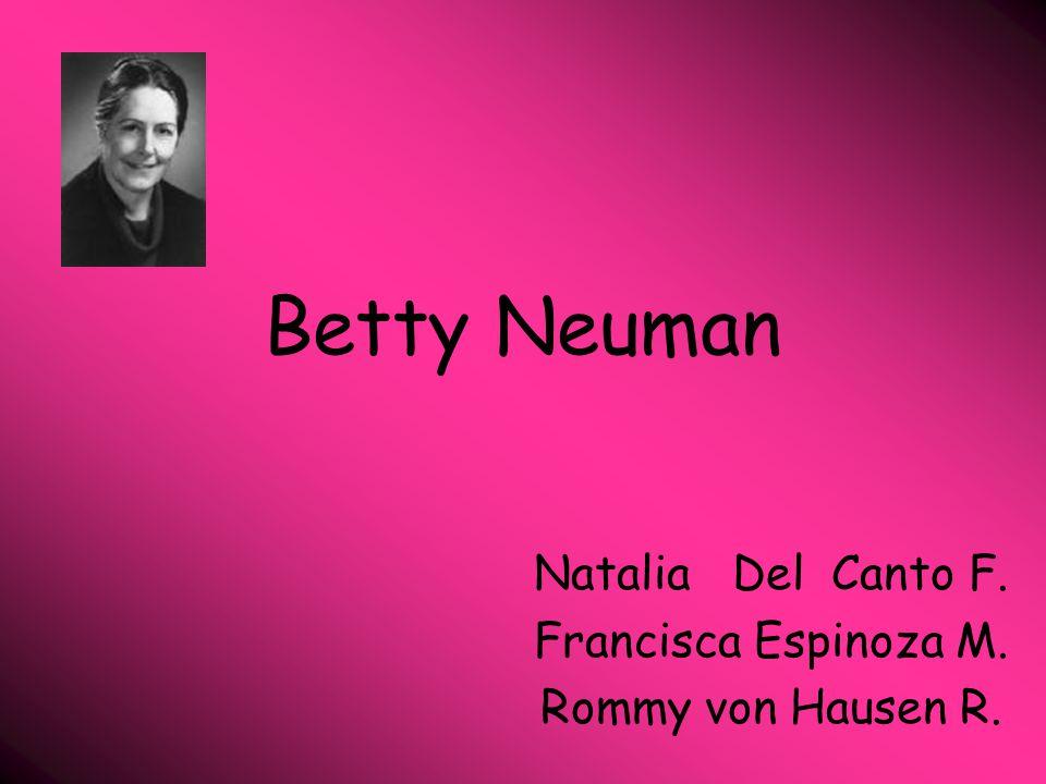 Natalia Del Canto F. Francisca Espinoza M. Rommy von Hausen R.
