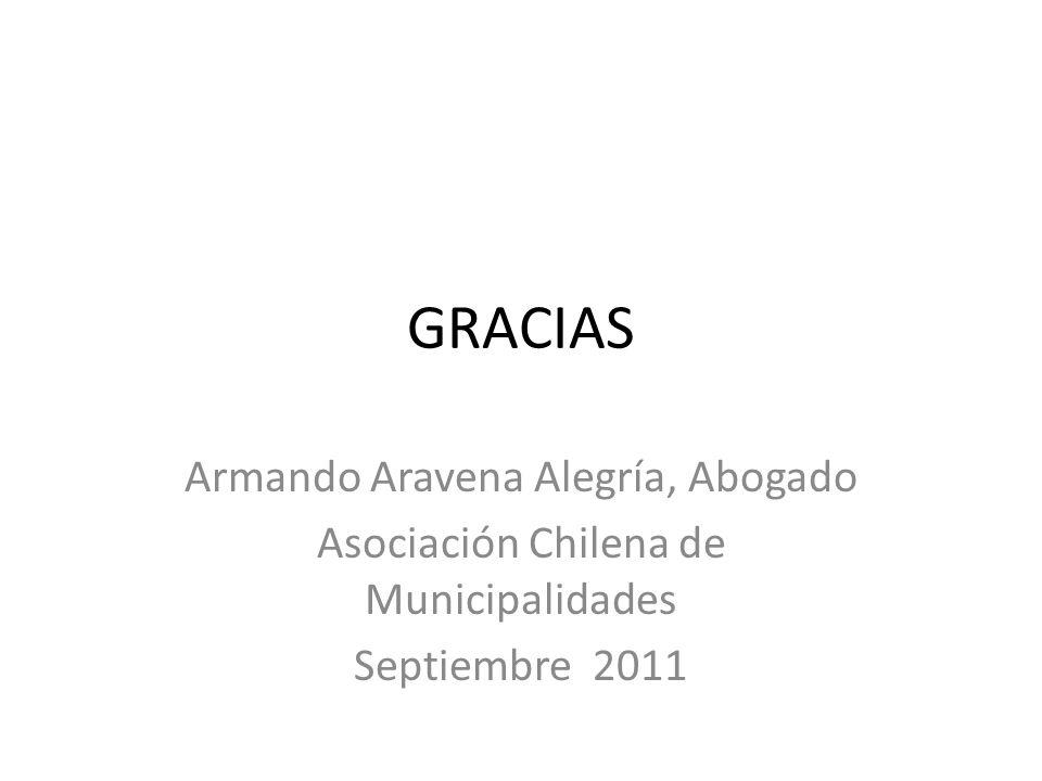 GRACIAS Armando Aravena Alegría, Abogado