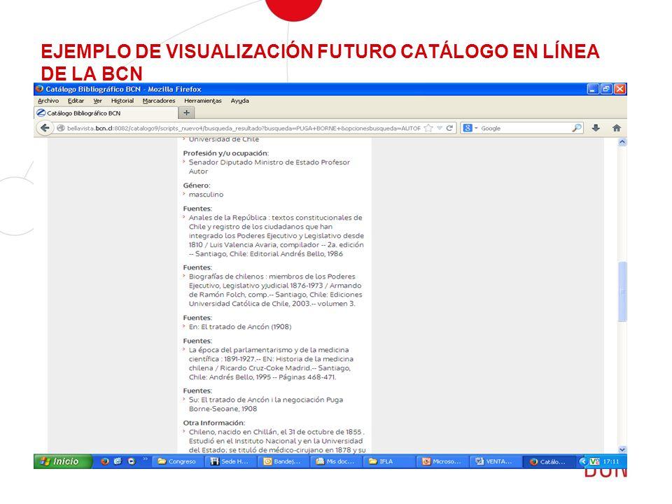 EJEMPLO DE VISUALIZACIÓN FUTURO CATÁLOGO EN LÍNEA DE LA BCN