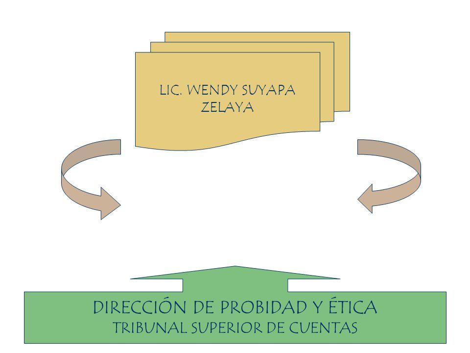 DIRECCIÓN DE PROBIDAD Y ÉTICA
