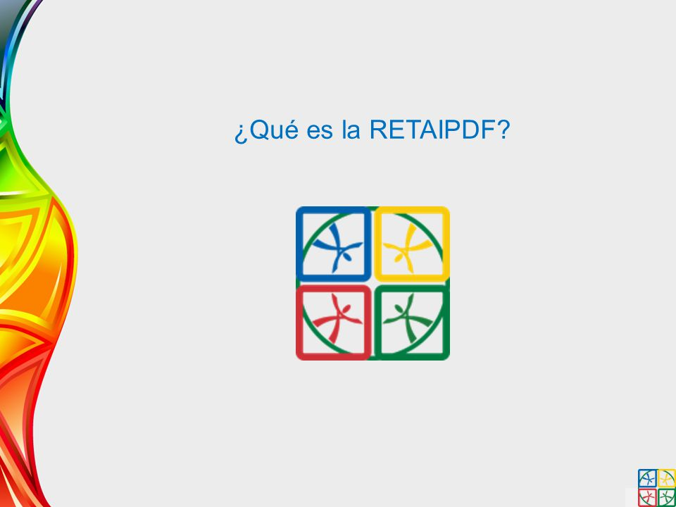 ¿Qué es la RETAIPDF