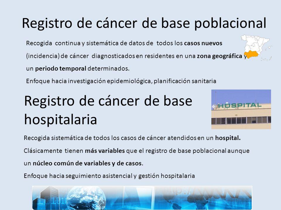 Registro de cáncer de base poblacional