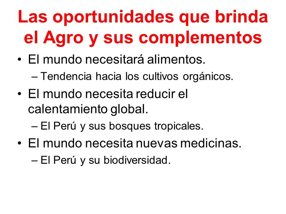 Las oportunidades que brinda el Agro y sus complementos
