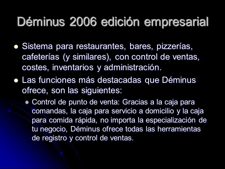 Déminus 2006 edición empresarial