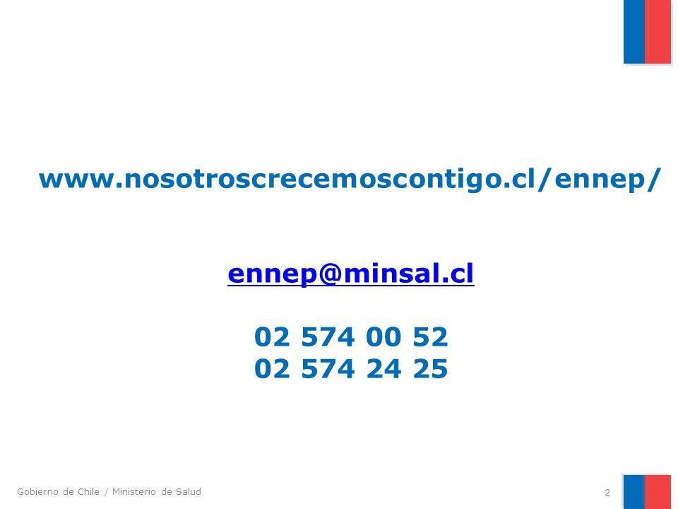 www. nosotroscrecemoscontigo. cl/ennep/ ennep@minsal