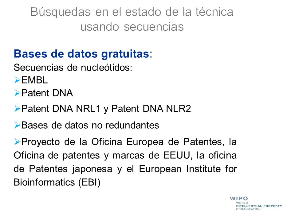 Programa de entrenamiento sobre redacci n de patentes for Oficina europea de patentes