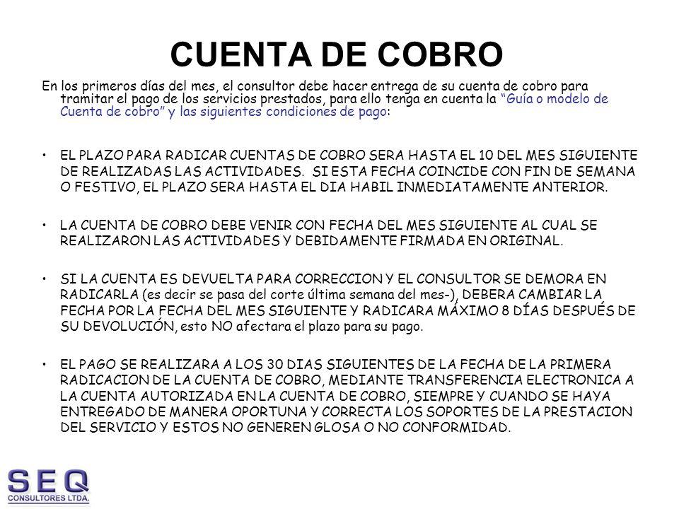CUENTA DE COBRO