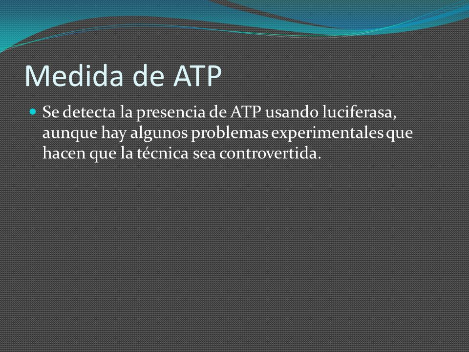 Medida de ATP