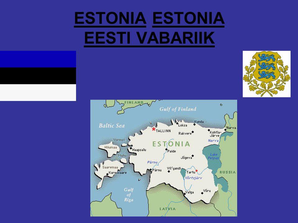 ESTONIA ESTONIA EESTI VABARIIK