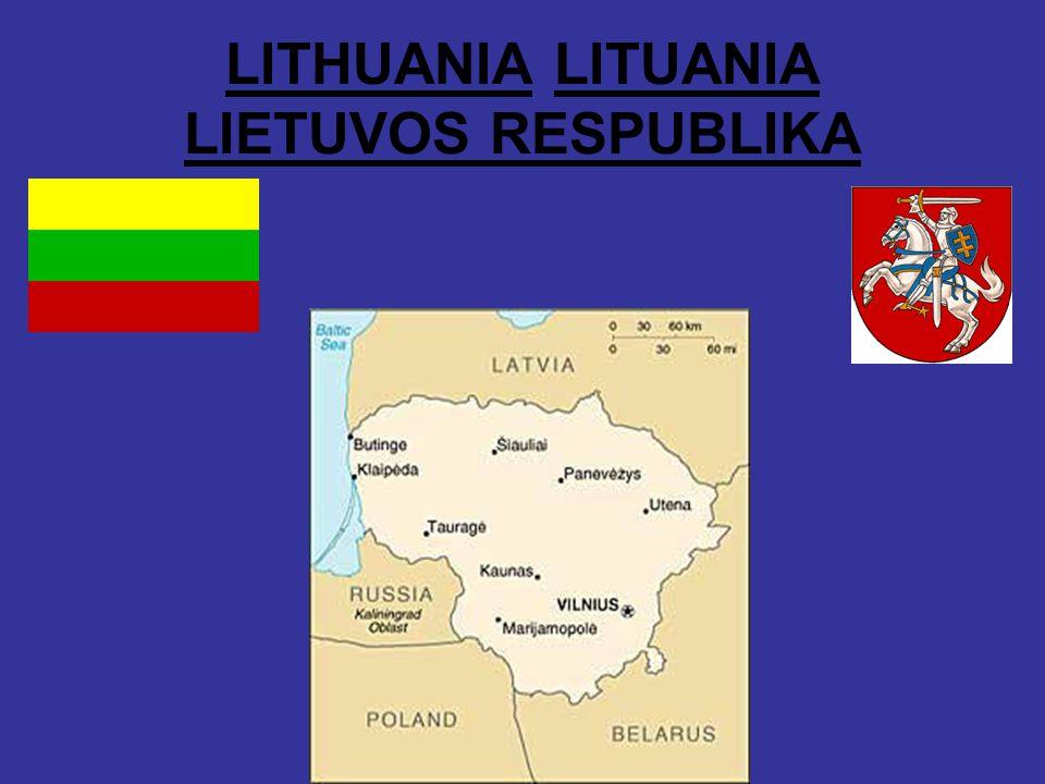 LITHUANIA LITUANIA LIETUVOS RESPUBLIKA