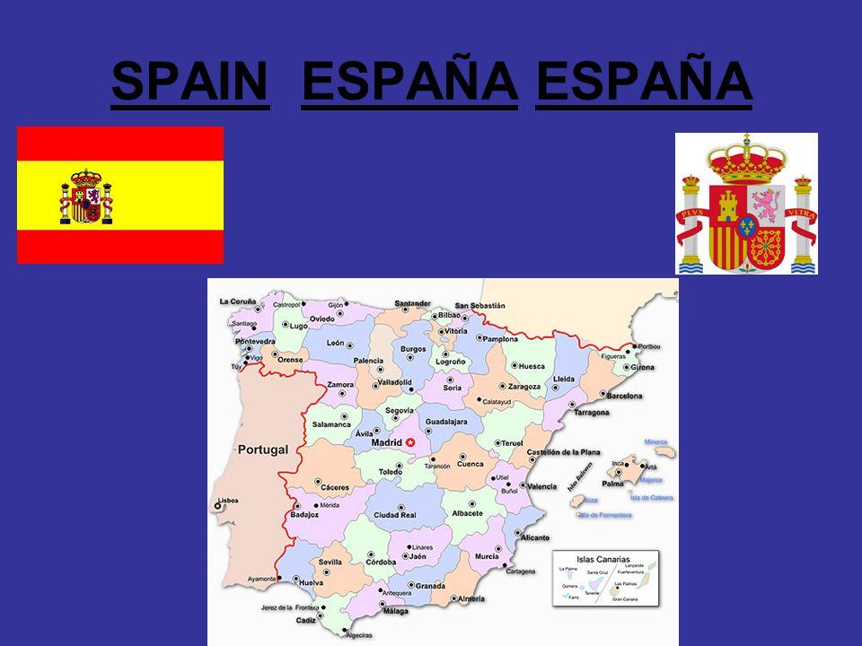 SPAIN ESPAÑA ESPAÑA