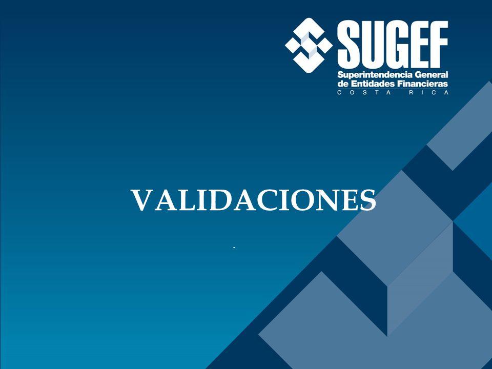 . VALIDACIONES