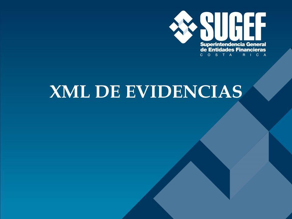 XML DE EVIDENCIAS